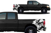 Dodge Ram 1500 2500 Truck Vinyl Decal Custom Graphics White Design