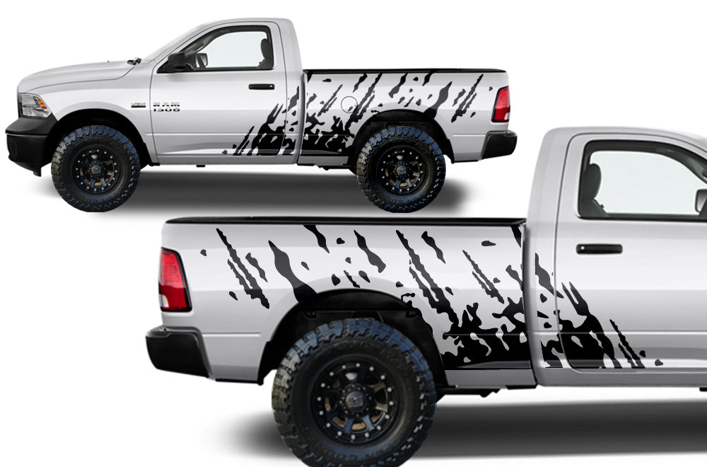 Dodge Ram 1500 2500 2009 2014 Midbox Custom Vinyl Decal