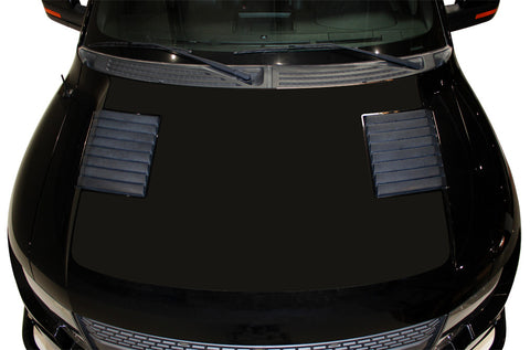 Ford F-150 SVT Raptor (2010-2014) Custom Vinyl Decal Kit - Solid Hood Wrap