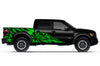 Ford Raptor F-150 F150 2010 2011 2013 2014 Truck Vinyl Decal Graphics Wrap Kit Factory Crafts Custom Green