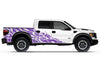 Ford Raptor F-150 F150 2010 2011 2013 2014 Truck Vinyl Decal Graphics Wrap Kit Factory Crafts Custom Purple