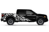 Ford Raptor F-150 F150 2010 2011 2013 2014 Truck Vinyl Decal Graphics Wrap Kit Factory Crafts Custom White