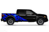 Ford Raptor F-150 F150 2015 2016 2017 2018 Truck Vinyl Decal Graphics Wrap Kit Factory Crafts Custom Blue