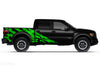 Ford Raptor F-150 F150 2015 2016 2017 2018 Truck Vinyl Decal Graphics Wrap Kit Factory Crafts Custom Green