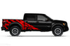 Ford Raptor F-150 F150 2015 2016 2017 2018 Truck Vinyl Decal Graphics Wrap Kit Factory Crafts Custom Red