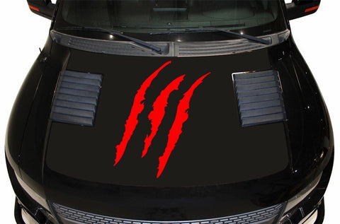 Ford F-150 SVT Raptor (2010-2014) Custom Vinyl Kit - Hood Wrap TEAR