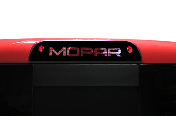 Chevy Chevrolet  Silverado Truck Decal Vinyl Graphics Black Brake light Mopar Design