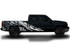 Chevy Chevrolet Silverado Car Decal Vinyl Graphics Silver Skull Design