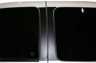 Chevy Chevrolet  Silverado Car Decal Vinyl Graphics Black Door Pillars Design