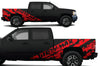 Chevy Chevrolet Silverado Car Decal Vinyl Graphics Red Design
