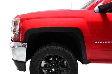 Chevy Chevrolet  Silverado Truck Decal Vinyl Graphics Black Fender Flares Design