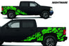Chevy Chevrolet  Silverado 2008 2009 2010 2011 2012 2013 Truck Decal Vinyl Graphics Green Skull Design