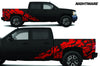 Chevy Chevrolet  Silverado 2008 2009 2010 2011 2012 2013 Truck Decal Vinyl Graphics Red Skull Design