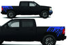 Chevy Chevrolet  Silverado 2008 2009 2010 2011 2012 2013 Truck Decal Vinyl Graphics Blue Design