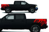 Chevy Chevrolet  Silverado 2008 2009 2010 2011 2012 2013 Truck Decal Vinyl Graphics Red Design