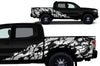 Toyota Tacoma TRD Truck Vinyl Decal Graphics Custom White Skull Design