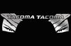 Toyota Tacoma TRD Truck Vinyl Decal Graphics Custom Silver Design