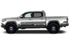 Toyota Tacoma TRD Truck Vinyl Decal Graphics Custom Gray Stripe Design