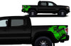 Toyota Tacoma TRD Truck Vinyl Decal Graphics Custom Green Skull Design
