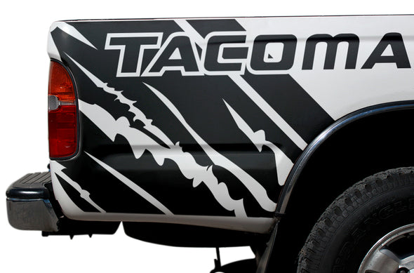 Toyota Tacoma TRD Truck Vinyl Decal Graphics Custom Black Design