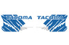 Toyota Tacoma TRD Truck Vinyl Decal Graphics Custom Blue Design