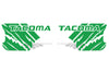 Toyota Tacoma TRD Truck Vinyl Decal Graphics Custom Green Design