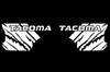 Toyota Tacoma TRD Truck Vinyl Decal Graphics Custom White Design