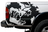 Toyota Tacoma TRD Truck Vinyl Decal Graphics Custom Black Skull Design