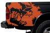 Toyota Tacoma TRD Truck Vinyl Decal Graphics Custom Orange Skull Design