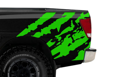 Nissan Titan (2004-2013) Custom Rear Decal Wrap Kit - RIPPED