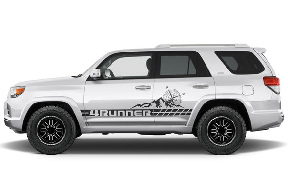Toyota 4Runner 4 Runner TRD Truck Vinyl Decal Graphics Custom Black Stripe Design