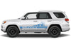 Toyota 4Runner 4 Runner TRD Truck Vinyl Decal Graphics Custom Blue Stripe Design