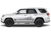 Toyota 4Runner 4 Runner TRD Truck Vinyl Decal Graphics Custom Gray Stripe Design