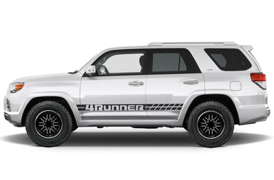 Toyota 4Runner 4 Runner TRD Truck Vinyl Decal Graphics Custom Stripe Design Black