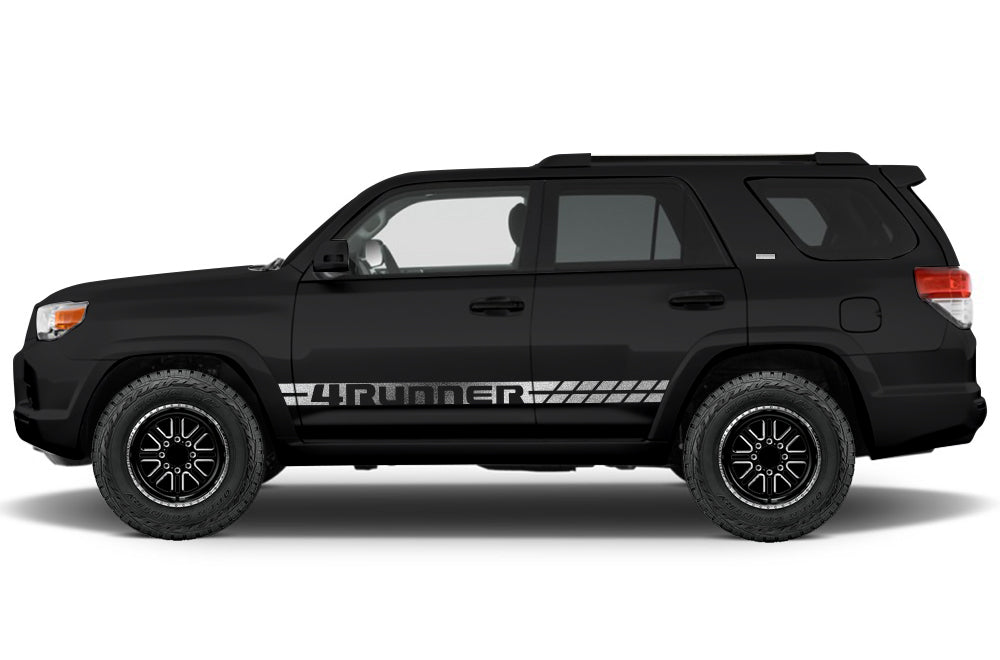 Toyota 4runner 2010 2017 custom vinyl decal wrap kit 4runner stripe