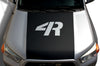Toyota 4Runner 4 Runner TRD Truck Vinyl Decal Graphics Custom Black Hood Design