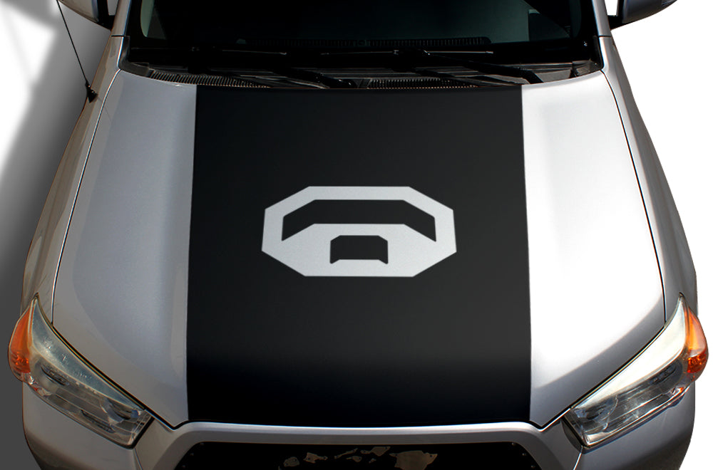 Toyota 4runner 2010 2017 Custom Vinyl Hood Decal Wrap