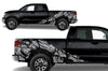 Toyota Tundra TRD Truck Vinyl Decal Graphics Custom Gray Skull Design