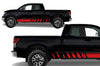Toyota Tundra TRD Truck Vinyl Decal Graphics Custom Red Stripe Design