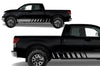 Toyota Tundra TRD Truck Vinyl Decal Graphics Custom Gray Stripe Design