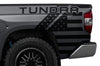 Toyota Tundra TRD Truck Vinyl Decal Graphics Custom Black American Flag Design
