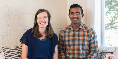 Ravi and Steph from Mr Foureyes profiled in Smart Business magazine