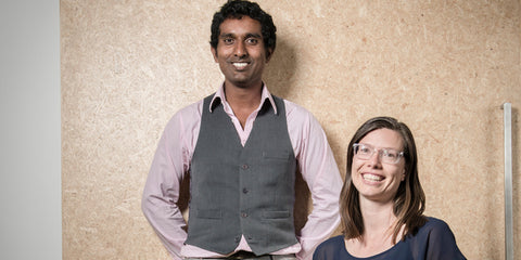 Ravi and Steph of Mr Foureyes in the NZ Herald