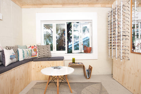 The Mr Foureyes workshop studio in Hataitai