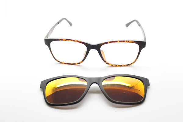 Prescription sunglass clip-ons by Mr Foureyes
