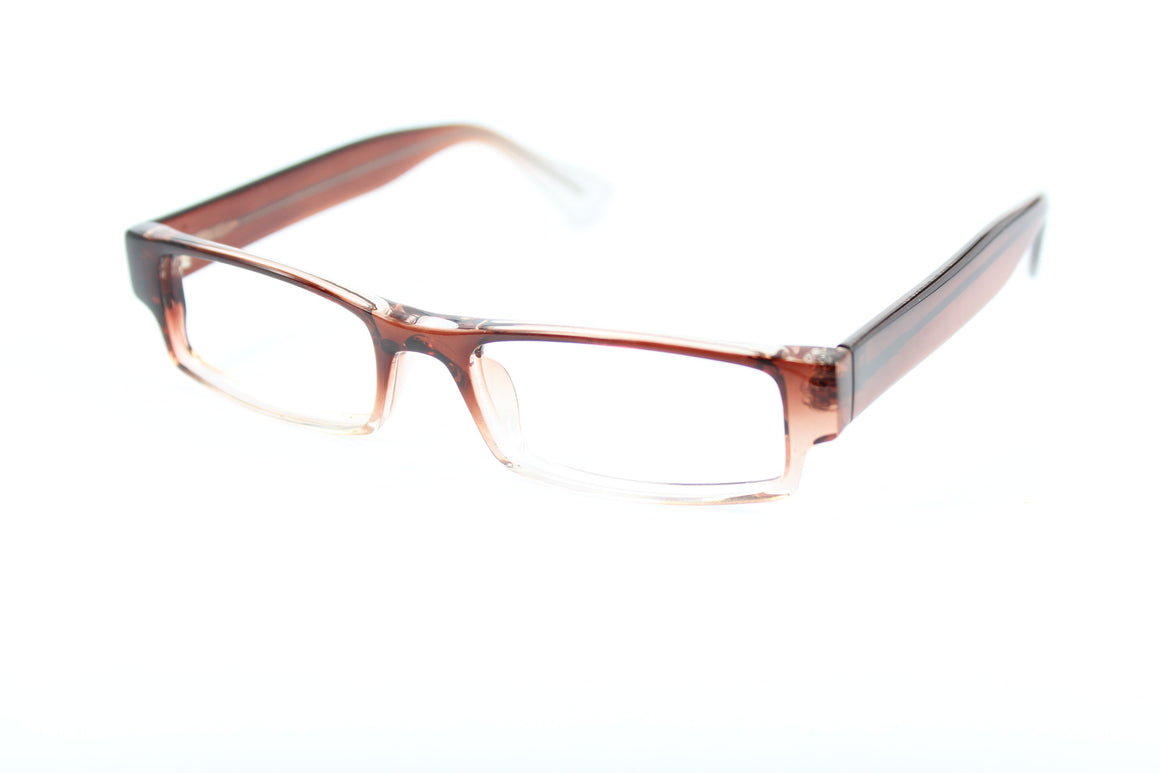 Van glasses frames in brown | Mr Foureyes prescription glasses online