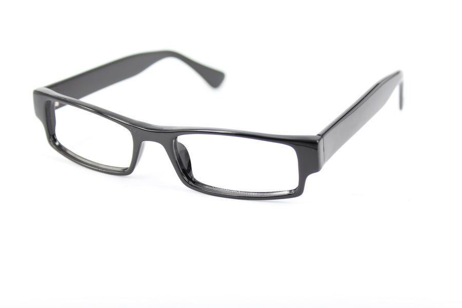 Van glasses frames in black | Mr Foureyes prescription glasses online