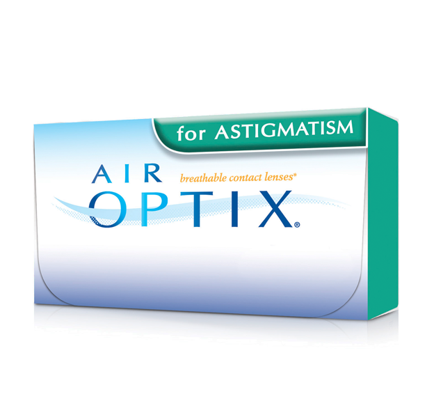 AIR OPTIX AQUA for astigmatism (monthly reusable contact lenses) | Mr Foureyes
