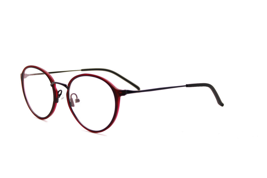 ALEXANDER metal glasses frames by Mr Foureyes, angle shot