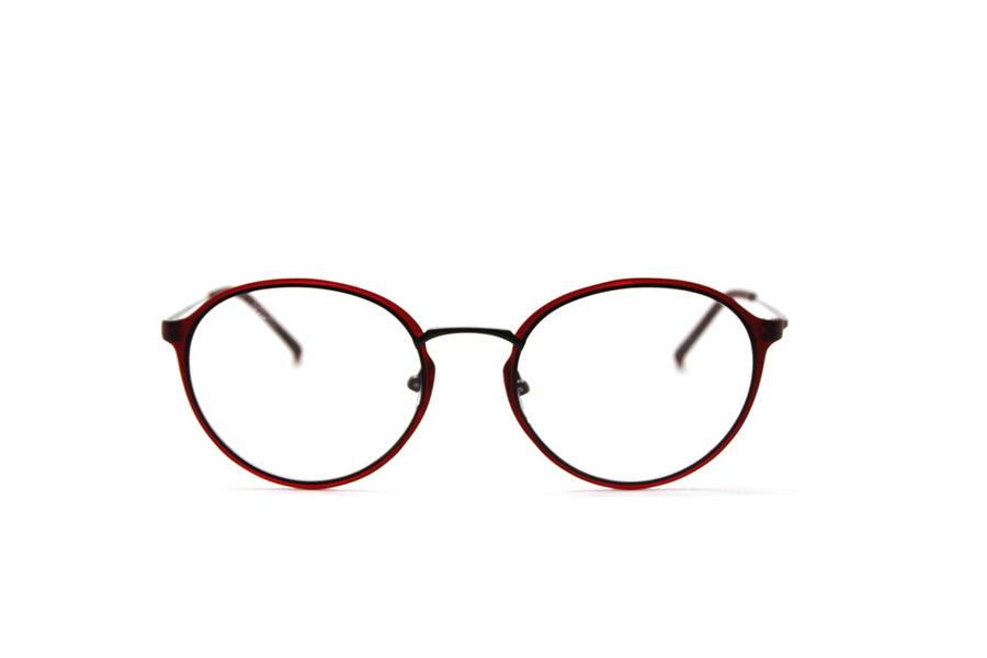 ALEXANDER metal glasses frames by Mr Foureyes, front shot